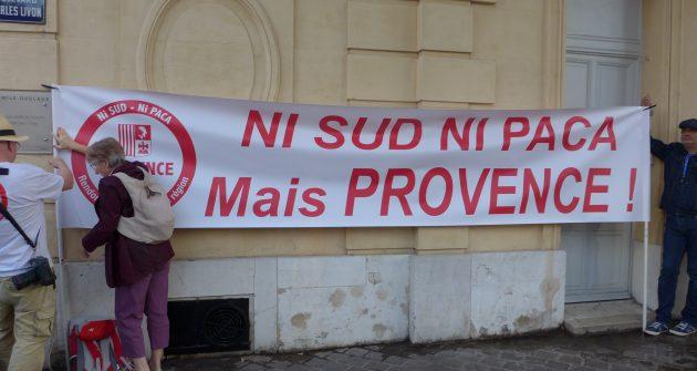Au congrès des Régions de France,    PROVENCE S'INVITE contre SUD